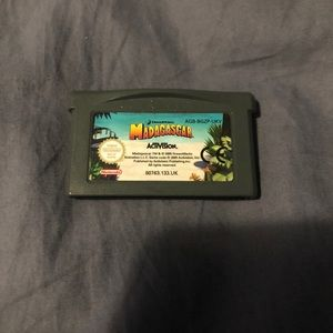 Madagascar Game Boy Advance Game